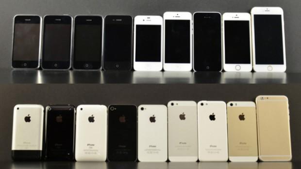 порядок фото iphone