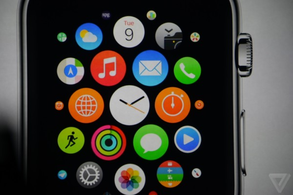Apple Watch Homescreen